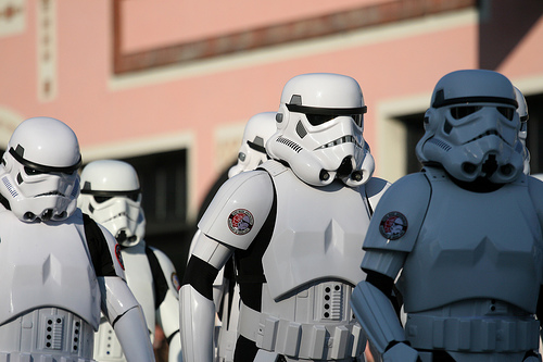 Rose Parade - Stormtroopers