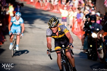 Lance Armstrong Attacks, (c) Ken Conley