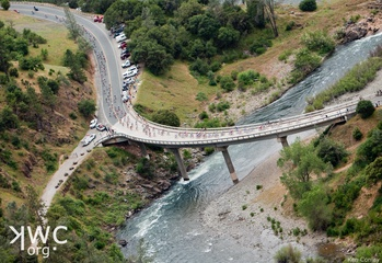 Stage 1 View from Foresthill Bridge, (c) Ken Conley