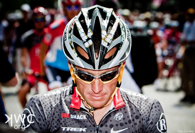Stage 1 Lance Armstrong, (c) Ken Conley