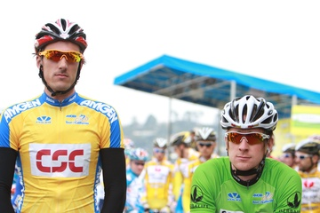 Cancellara and Wiggins, (c) Ken Conley