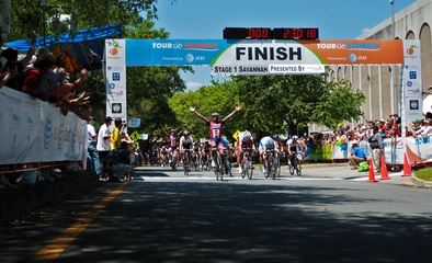 Sprint Finish in Savannah, (c) Ken Conley