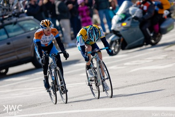 Leipheimer and Peterson, (c) Ken Conley