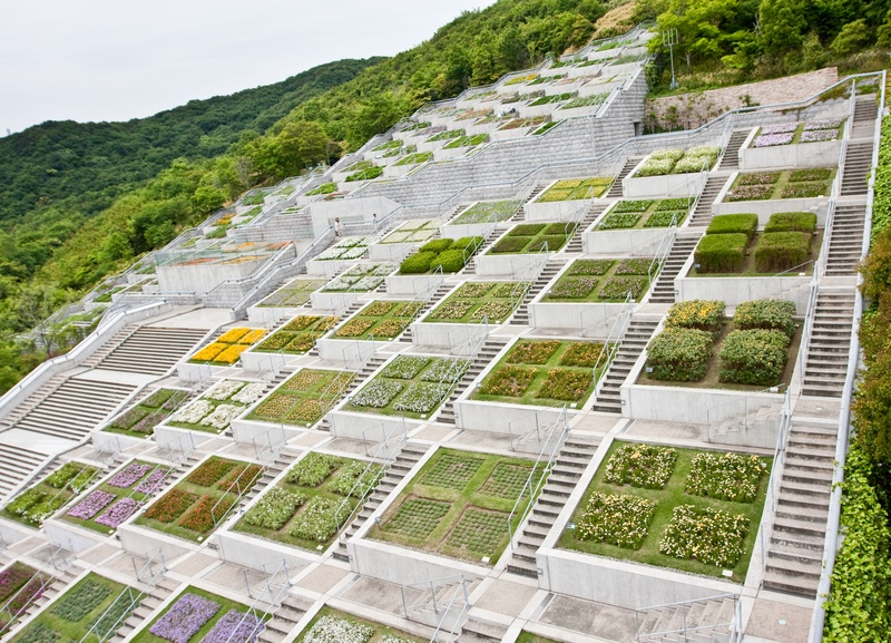 Photos awaji yumebutai part i tadao ando archives for Japanese landscape architecture